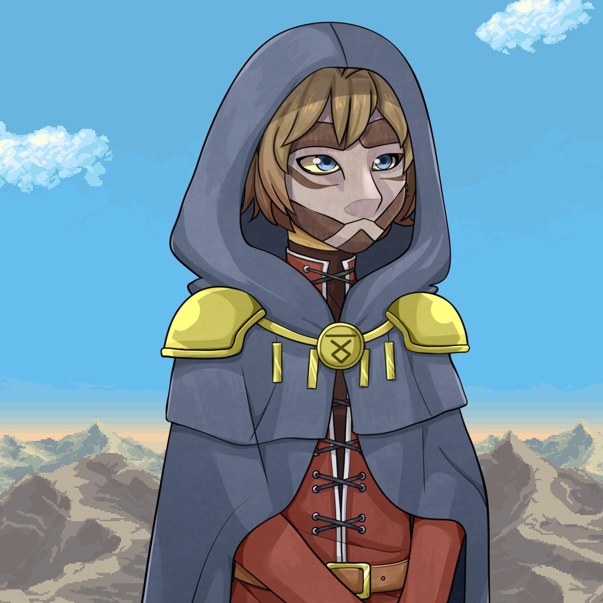 Eniko: Ghosts Of Grace - Eniko character art